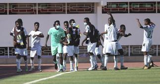 Black Satellites to play in Afcon finals on Saturday after beating Gambi in semi's ▷ YEN.COM.GH
