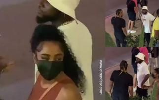 Davido Openly Disrecpects Chioma As He's Caught Cheating with An IG Model