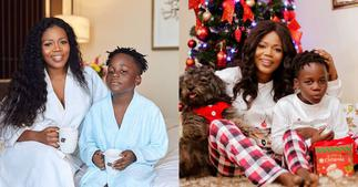 Father Of Mzbel's Son Adepa Calls To Pray For Him On His 8th Birthday; Video Drops ▷ Ghana news