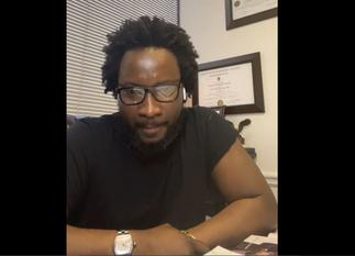 Sonnie Badu speaks after his four-month degree trends