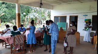 V/R: Parents preventing kids from taking Malaria vaccine over COVID fears