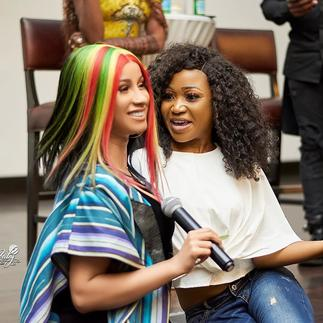 Cardi B Reaches Out To Akuapem Poloo In Jail