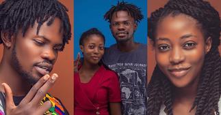 Fameye's pretty girlfriend drops lovely photo as she celebrates b'day; fans react ▷ Ghana news