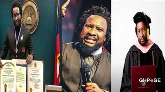 Sonnie Badu finally reacts to allegations of buying fake Doctorate Degrees in 4 months