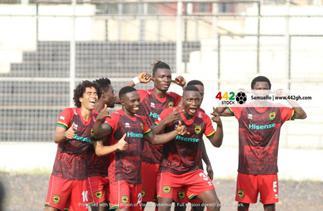 Match Report: 'Samba delight' as Asante Kotoko rain goals on Bechem United