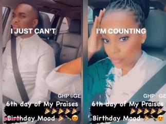 Joe Mettle And His Wife Chop Love In New Video As They Cruise In Their Posh Car