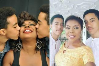 Akuapem Poloo Jailed: Photo of Afia Schwar Kissing son Drops After Celebrating Rosemond Brown's fall ▷ Ghana news