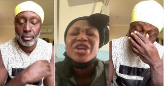 Reggie Rockstone Weeps Like A Baby Over Akuapem Poloo's Jail Term
