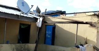 Roofs of over 90 buildings in Damango ripped off after downpour