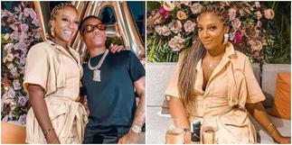 Akufo-Addo's Daughter Valerie Obaze Chill With Wizkid On Her Birthday ▷ Ghana news