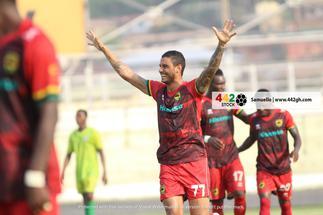 Asante Kotoko thump Bechem Utd 4-0 after delightful performance