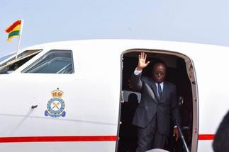 Akufo-Addo attends Sassou Nguesso's inauguration in Brazzaville