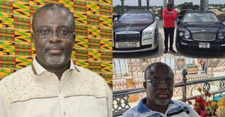 Dr Asiedu: Ghanaian millionaire flaunts his newly acquired customised 2021 Rolls Royce and Bentley ▷ Ghana news