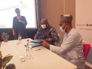 GRIDCo, CSquared sign agreement to boost internet service in Ghana