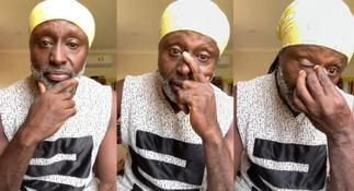 Reggie Rockstone cries after Akuapem Poloo's sentencing