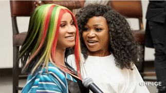 Cardi B reacts to Akuapem Poloo's 90-day jail sentencing