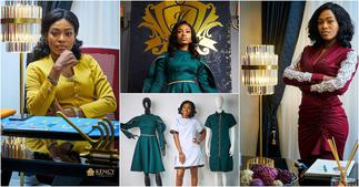 Tracy Osei: Photos Kennedy Osei's Wife's Plush Office Pop Up For 1st Time ▷ Ghana news