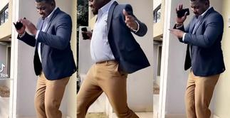 John Dumelo Lightens Mood With His 'Gbese' Dance Move » GhBasecom™