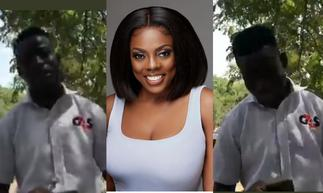 Nana Aba Anamoah Does It Again As She Offers To Help A Security Man Become A News Anchor » GhBasecom™