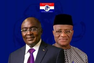 NDC propaganda machine behind my 2024 running mate posters with Bawumia