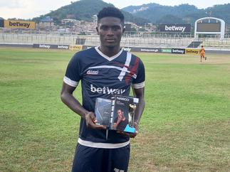 GPL: Liberty forward Kwaku Karikari picks MOTM award in win against Eleven Wonders