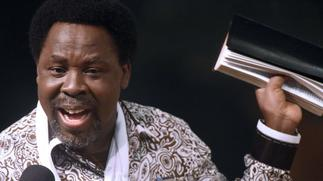YouTube deletes TB Joshua's account over gay cure claim