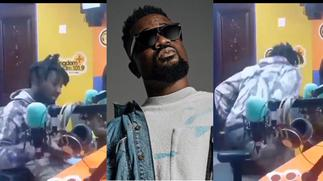 Rapper Amerado loses his cool, walks out of live radio interview because presenter asked him about Sarkodie [Video] » GhBasecom™