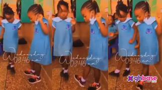 Two young girls light up social media with their cute dance moves as they jam to O'Kenneth's 'Agyeiwaa' song » GhBasecom™