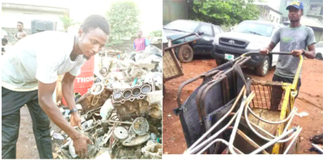 SAD: Man who sold plot of land to sponsor his master's degree now picks and sells scraps for survival » GhBasecom™