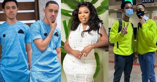 Photo of Afia Schwar with only pant in her twin son's arm Surfaces Online After Akuapem Poloo jail Sentence ▷ Ghana news