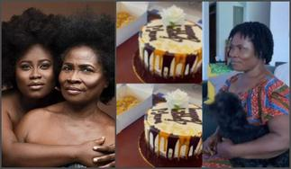 Actress Lydia Forson Throws Party To Celebrate Her Mother's 69th Birthday