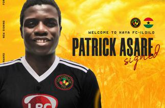 Patrick Asare joins Philippines side Kaya FC