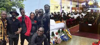 Check Out Some Heartbreaking Photos From The Final Burial Of DJ Adviser