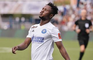 Joel Fameyeh scores 11th goal of the season for Orenburg