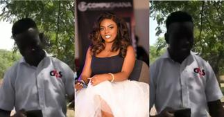 Nana Aba Anamoah offers job to talented security man with exceptional radio-presenting skills ▷ Ghana news