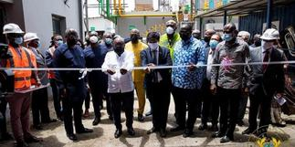 1D1F: Akufo-Addo commissions phase one of B5 Plus steel plant
