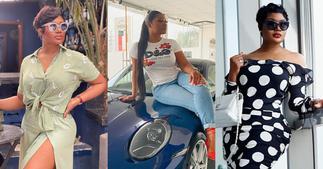 Sandra Ankobiah Gets a 2021 Porsche Carrera Worth GHC600k; Flaunts Car In New Photo ▷ Ghana news