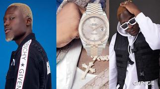 Medikal exposed for flaunting fake Rolex watch by German Watch Blog