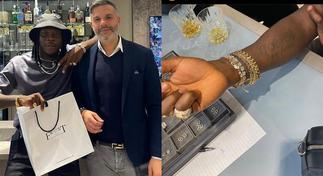 Stonebwoy Pampers Himself With Expensive Jewelry From UK's Top Jeweler Joseph Frost » GhBasecom™