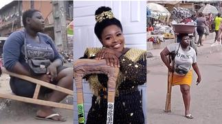 Revealed: Viral amputee hawker who was helped and transformed into a model found to have staged and lied about her condition [Details] » GhBasecom™