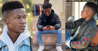 Abraham Attah: Fans 'thank God' he is schooling in the USA because of his dreadlocks ▷ Ghana news