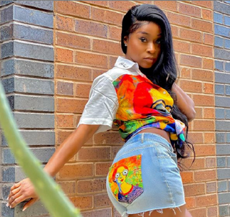 Efia Odo explains distance from Shatta Wale