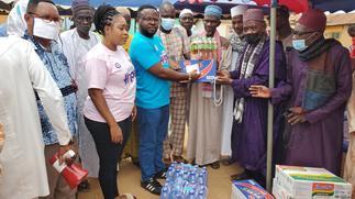 Board chairman of Legon Cities FC donates to Oti Muslim community