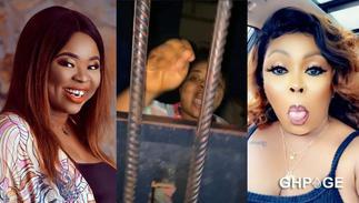 Ghanaians blast Afia Schwarzenegger for posting video of Adu Safowaah, naked inmate online