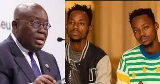Twins Dnt Beg Fired as Akufo-Addo's Official Photographers; they tell Reason ▷ Ghana news