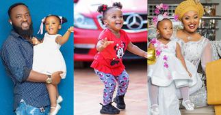 Baby Maxin: McBrown's Daughter Looks so tall in Latest Photo ▷ Ghana news