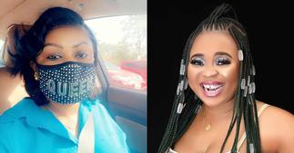 Adu Safowaa Gives Afia Schwar A Heavy Knock On Her Eye; Photo And Details Drop ▷ Ghana news