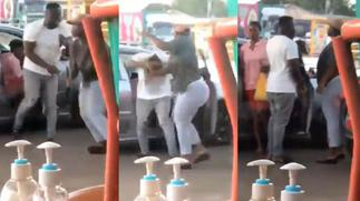 Lady Orders Husband's Sidechick As She Removes Her Wig To Lash Her