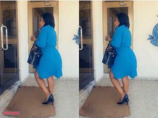 Photos Of Afia Schwar In CID Office Drop