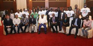 Akufo-Addo meets families of May 9 disaster